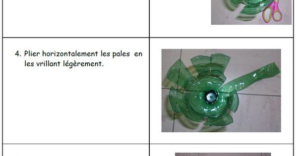 Fabriquer un moulin vent en bouteille en plastique creer avec des bouteilles en plastique - Comment fabriquer un moulin a vent en papier ...