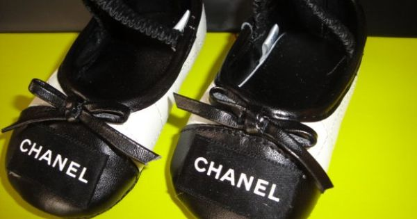 Chanel baby shoes Baby baby Pinterest