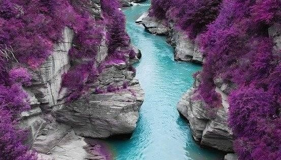 The Fairy Pools on the Isle of Skye, Scotland. Scotland just jumped