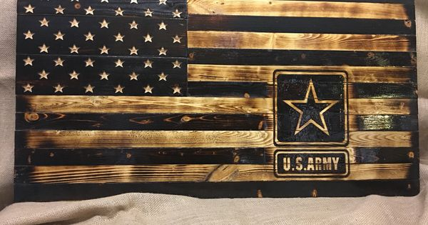 Us Army Rustic Wooden Flag Etsy Wooden Flag American Flag Wood Rustic Wooden American Flag