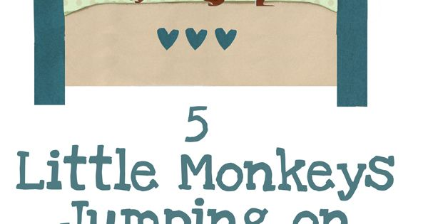 Let's Play Music : 5 Little Monkeys Jumping on the Bed -