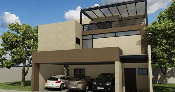 Arquitectura casa residencia fachada construccion - Casas amuebladas modernas ...