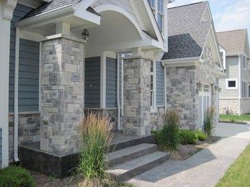 Exterior Stone Siding And Har Board