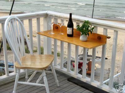 Small Balcony A Table