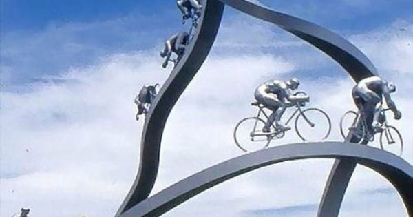 Italian Bike Monument