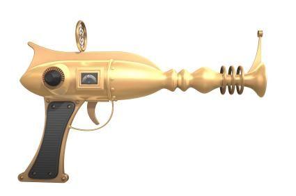Crazy 50s Weapons Concept Art