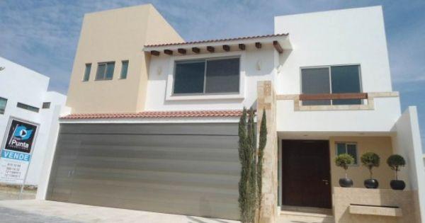 Hermosa casa estilo mediterraneo fachadas pinterest for Fachadas de casas modernas en hermosillo
