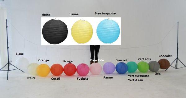 arc en ciel de couleur avec les boules japonaises mariage. Black Bedroom Furniture Sets. Home Design Ideas