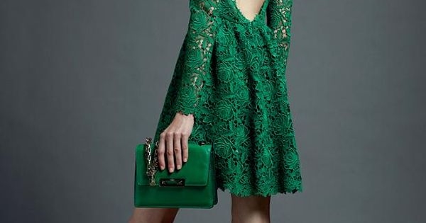 Obsessing over this green and the back. I'd pair this with a