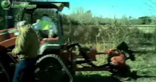Ditch Witch For Fiber Optic Cable In Action Fiber Optic Cable Fiber Optic Optical