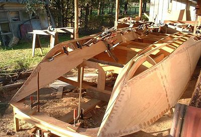 How To Build Boats Aqua Cat Power Catamaran Boat Kit Pic554b Boat Building Power Catamaran Small Boats