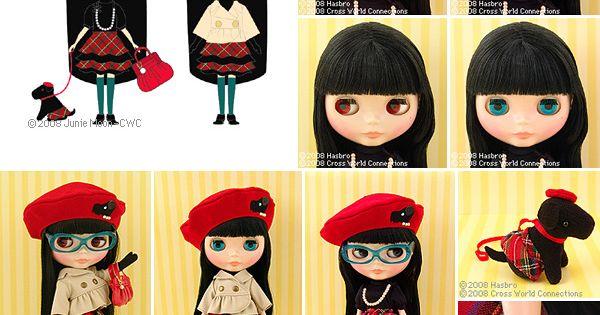Bow wow trad little blythe doll pinterest anime for Blythe le jardin