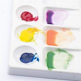Setting Up A Basic Winsor And Newton Watercolour Palette What