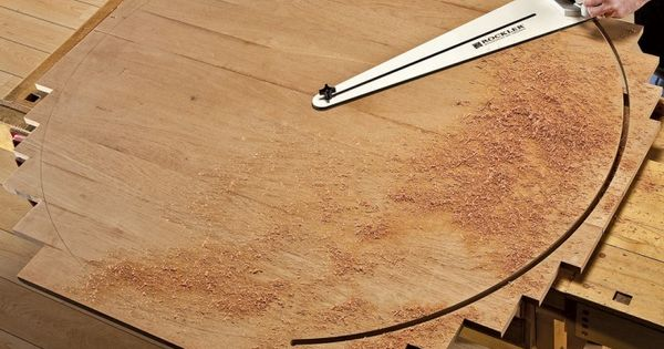 Rockler Circle Cutting Jig  도구, 목공 팁 및 목공예