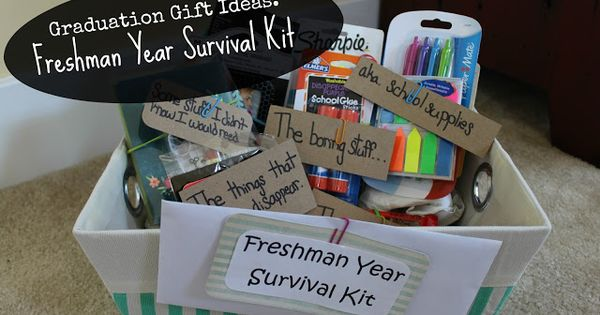 College Survival Kit For Guys Dorm Room