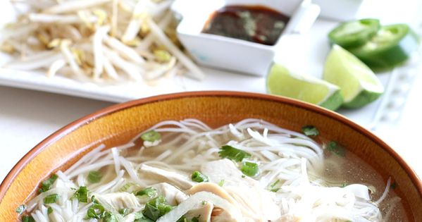 Pho, Chicken pho and Traditional on Pinterest
