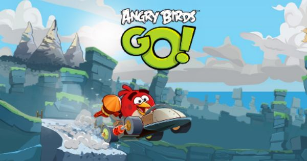 Angry Birds Go Kart Racer Now In The App Store Angry Birds