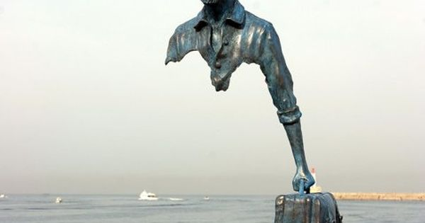 """Le Grand Van Gogh"" ~ by French sculptor Bruno Catalano at the"