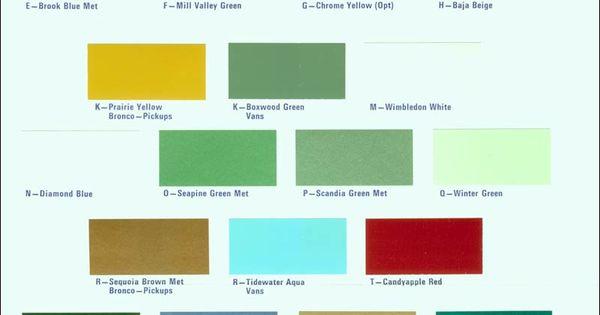 72 Paint Chips Chips Codes Paint S Pinterest