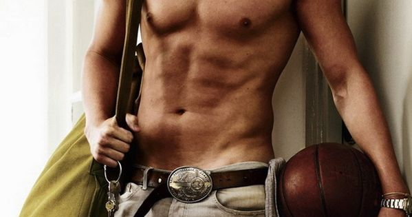 Channing Tatum {I saw this picture in a restaurant once & when I told someone about it I told them Channing was in there as a shirtless fireman: 2 things right up my alley, hot shirtless fireman!! ;) }