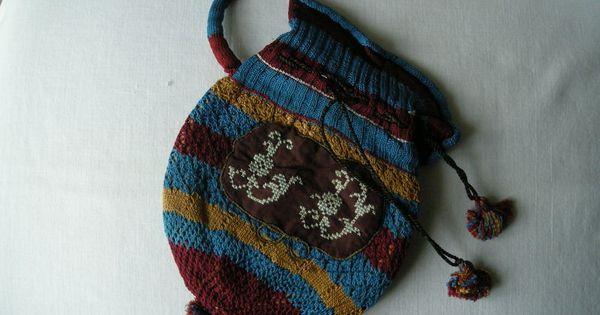 DSCN3965   Historical Bag, Reticule, Miser Purse, Pouch, Pocket ...