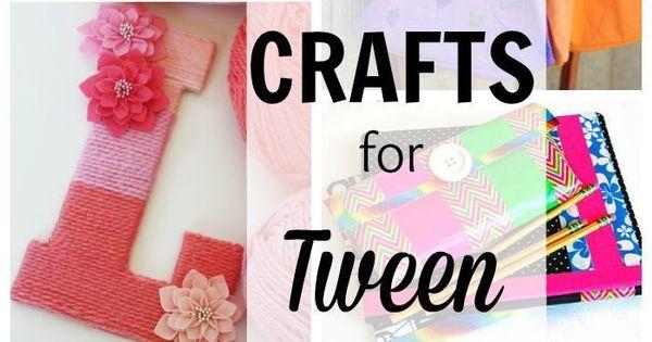 17 crafts for tween girls tween girls tween and craft for Easy crafts for tweens