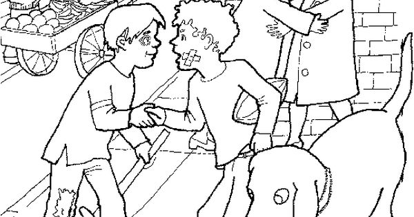 LDS Primary Coloring Pages fiving