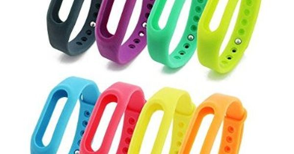Taotree 8pcs 8 Colors Xiaomi Replacement Wrist Band For Xiaomi Mi Band Xiaomi Mi Band S1 Smar Running Gadgets Fitness Watches For Women Fitness Watch Tracker
