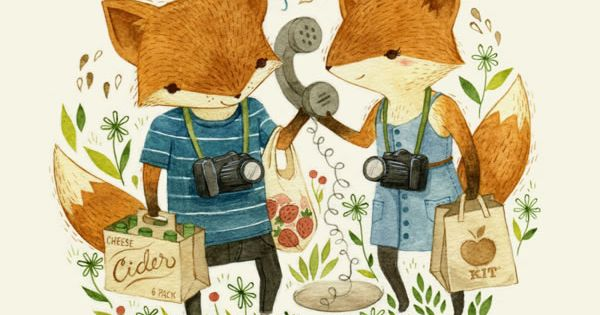 Adorable Children's Book Illustrations by Teagan White | Abduzeedo Design Inspiration