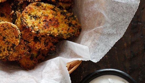 Fried pickles, Oven fried pickles and Herbs on Pinterest
