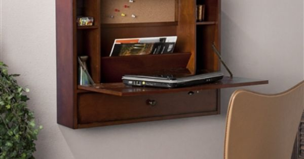 Wall Mount Fold Away Desk Tight Space Furniture Tiny