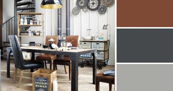 Quelles couleurs se marient avec le marron d co et salons - Les couleurs qui se marient avec le marron ...