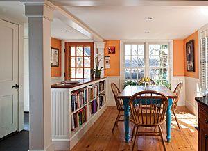 11++ Half wall bookcase room divider ideas