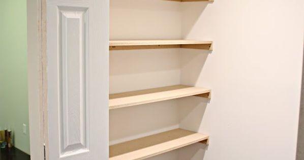 Closet Organization Shelves Wall Anchors Shelves And Primer