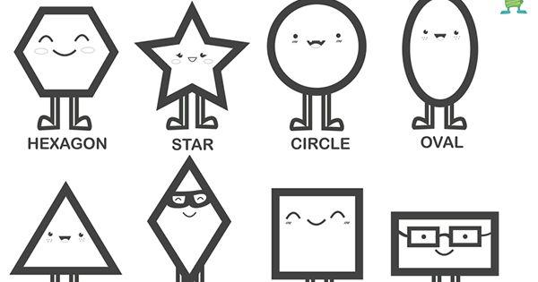 formas geom u00e9tricas en ingl u00e9s  free printable geometric