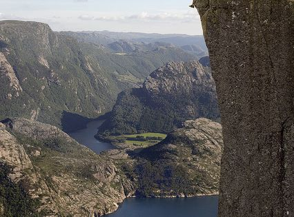 Pulpit Rock, Norway imagine the view