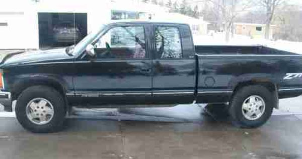 1992 Chevy 1500 Extended Cab 1992 Gmc Sierra 1500 Extended Cab 4x4 Z 71 5 7 V8 Just Like Chevy Gmc Sierra 1500 Gmc Sierra Chevy