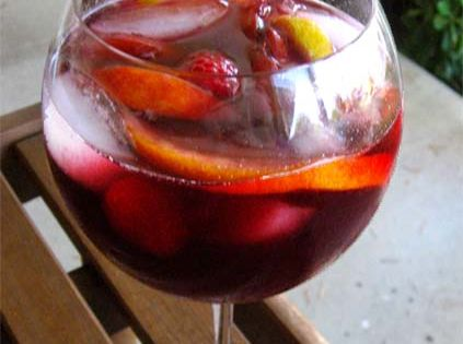 Best Red Sangria Recipe! 1 bottle of red wine • ½ cup