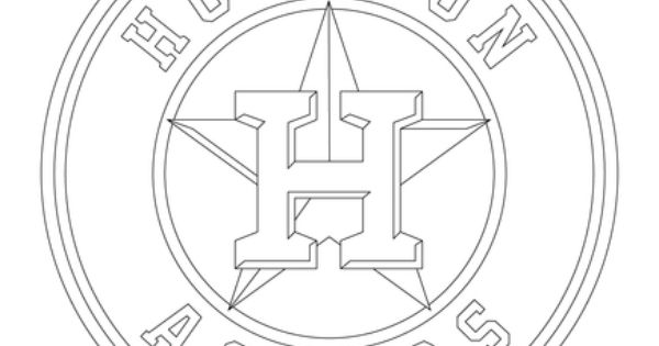 Houston Astros Logo Coloring Pages Coloring Pages