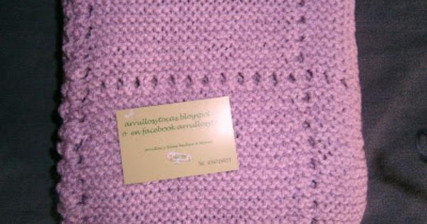 Toca de lana hecha a mano arrullos de beb pinterest - Toca de ganchillo ...