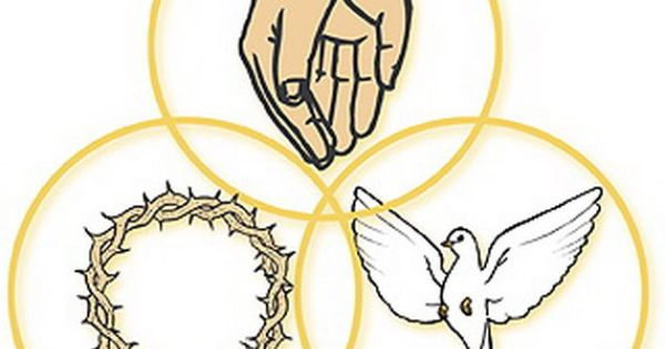 Catholic Holy Trinity Symbol Coloring Pages In Addition Worksheet On ...