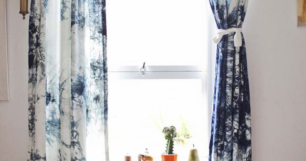 Curtains Hand Dyed 100 Cotton Tab Topped Curtains Home Pinterest Products Hands And