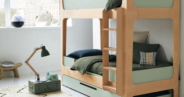 Lits mezzanine et lits superpos s les mod les les plus - Tablette pour lit superpose ...