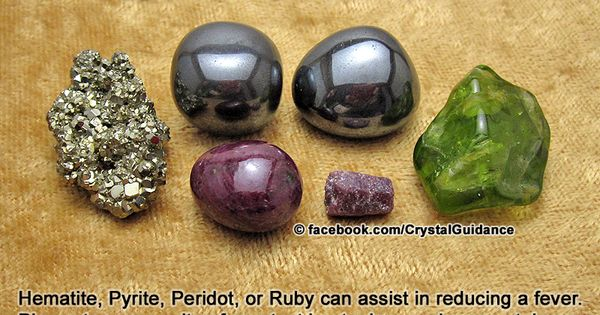 Crystal Guidance: Crystal Tips and Prescriptions - Fevers
