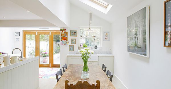 Stockwell in Stockwell, Greater London, Side Extension, Kitchen Extension, Victorian Terraced House,