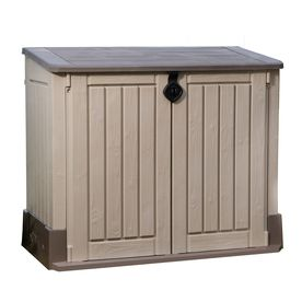 Keter Woodland Lean To Storage Shed Common 4 Ft X 2 Ft Interior