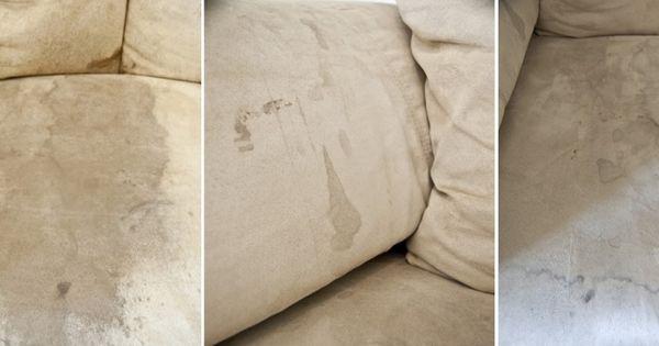 Comment faire dispara tre les vilaines taches sur un for Nettoyage canape tissu