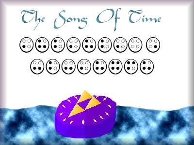 Song Of Time Zelda Ocarina Of Time With Images Ocarina Tabs