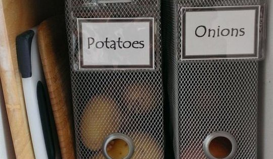 Kitchen Organization Pantry Small Spaces Organizing Ideas
