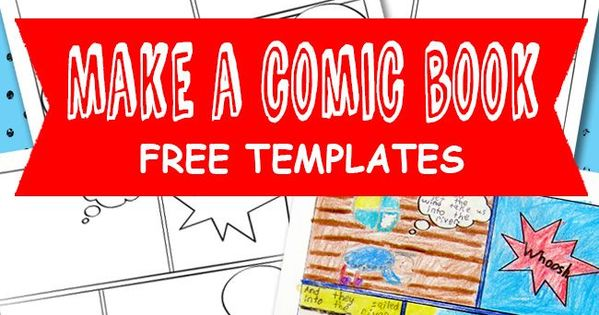 comic book templates free kids printable motivational template and comic. Black Bedroom Furniture Sets. Home Design Ideas